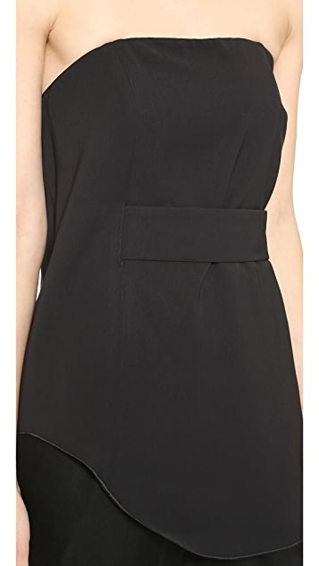 camilla and marc Red Robin Bustier Top
