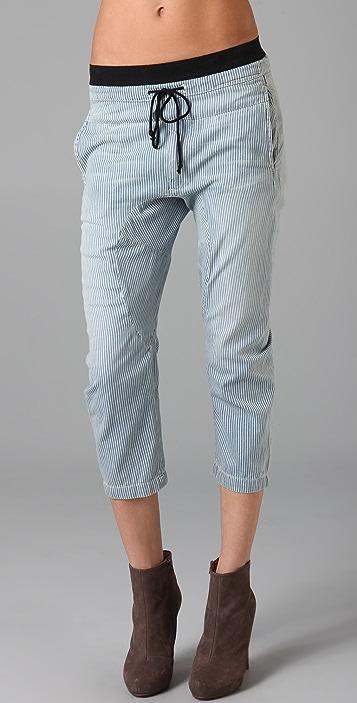Current/ Elliott + MARNI The Cropped Drawstring Pants