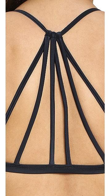 CM Cia Maritima Solids Kate Bikini Top