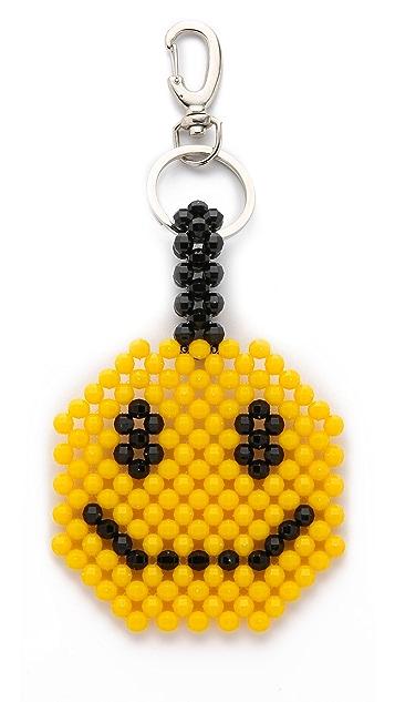 Mira Mikati Del Duca Smiley Bag Charm