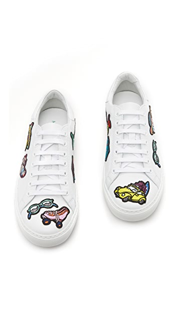 Mira Mikati All Over Patches Sneakers