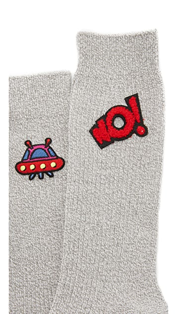 Mira Mikati Socks with Patches
