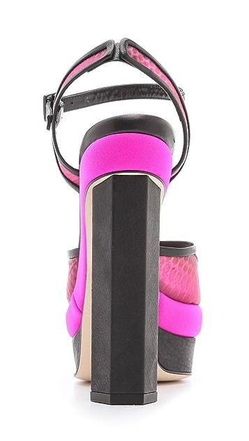 Chrissie Morris Farrah Platform Sandals