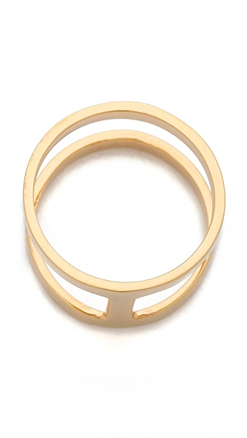 Campbell Delicate Double Stack Ring