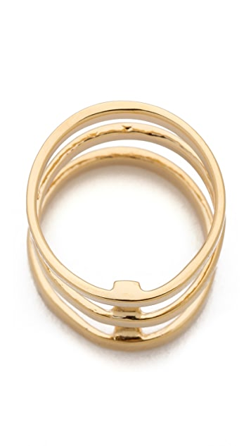 Campbell Tri Bar Ring