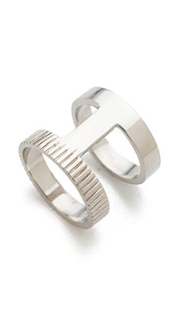 Campbell Double Stack Ring