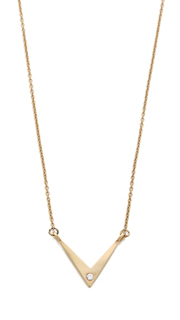 Campbell Small V Chain Necklace
