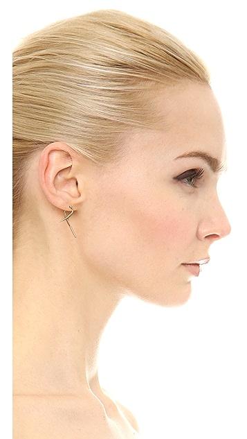 Campbell Small Talon Hoop Earrings