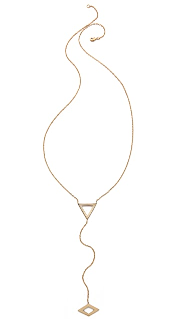 Campbell Flat Lariat Necklace