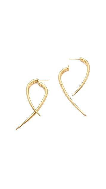Campbell Large Talon Hoop Earrings
