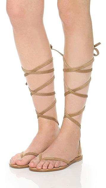 Cornetti Elia Wrap Sandals