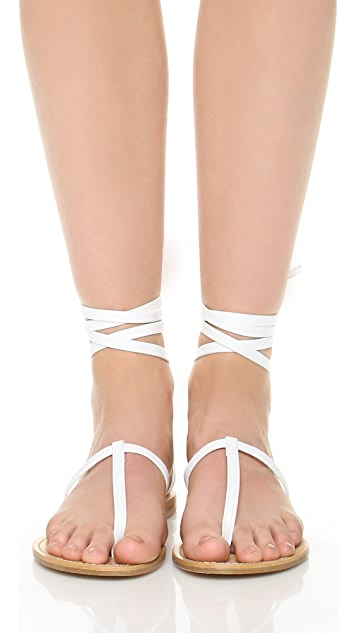 Cornetti Erchie Wrap Sandals