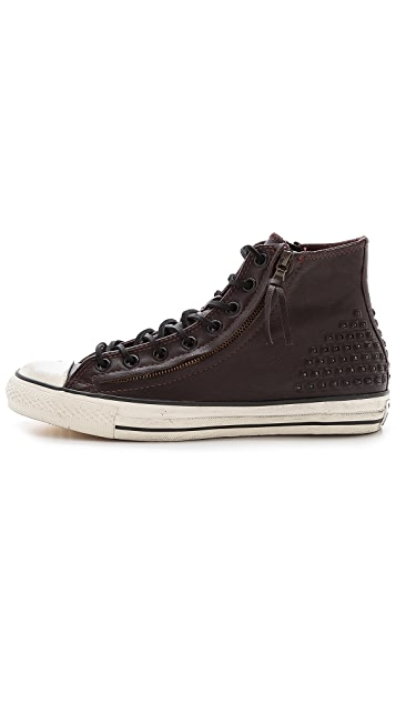 Converse x John Varvatos Chuck Taylor All Star Sneakers with Double Zip
