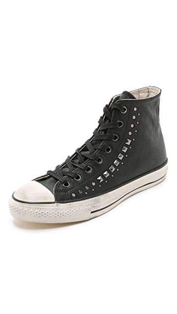 factory authentic 5f3bc 9d8dd Converse x John Varvatos. Chuck Taylor All Star Studded Sneakers