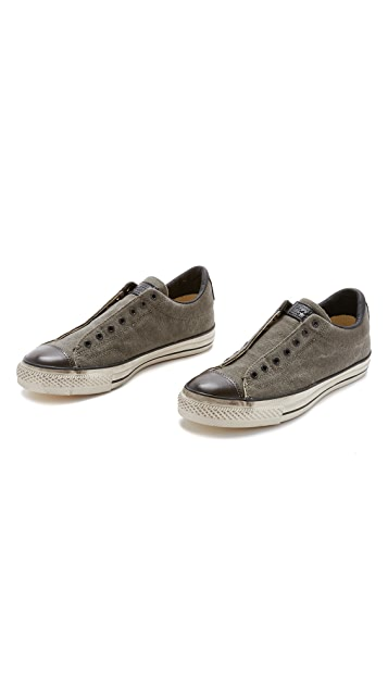Converse x John Varvatos Chuck Taylor All Star Vintage Slip On Sneakers
