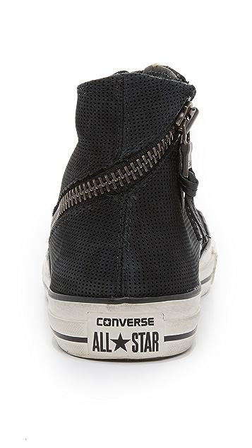 38332b9da264 ... Converse x John Varvatos Chuck Taylor All Star Tornado Zip High Top  Sneakers ...