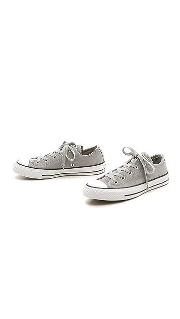 Converse Замшевые кроссовки Chuck Taylor All Star