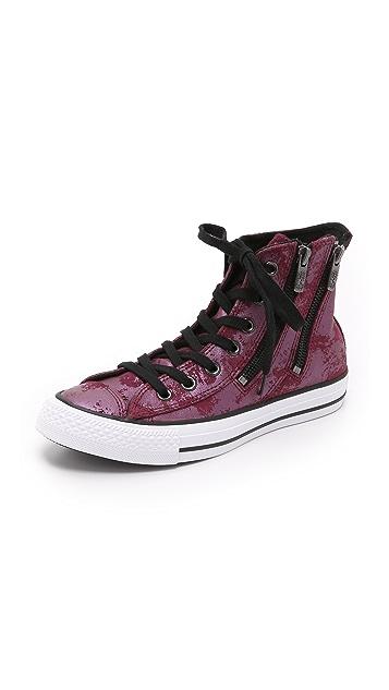 ecc64433121 Converse Chuck Taylor All Star Dual Zip High Top Sneakers