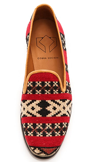 Cobra Society Najet Tapestry Loafers