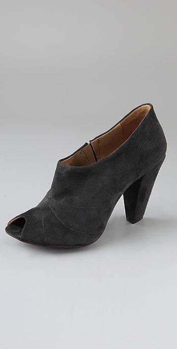 Coclico Shoes Piran Suede Open Toe Pumps