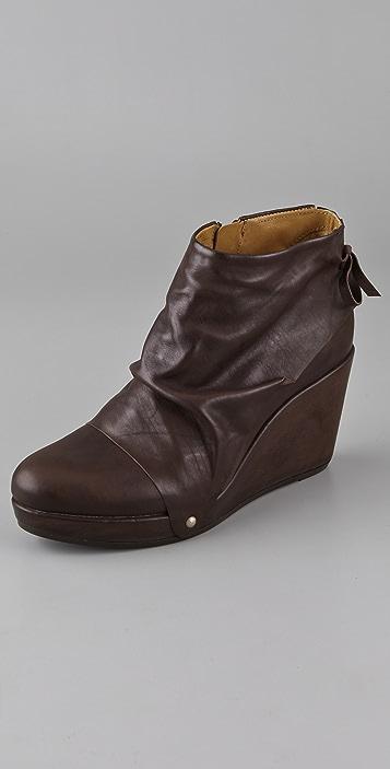 Coclico Shoes Heller Platform Wedge Booties