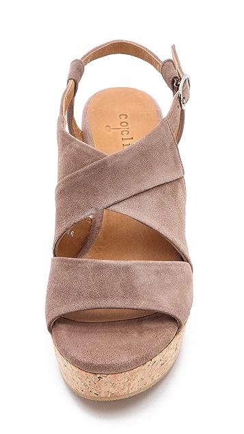 Coclico Shoes Melania Cork Platform Sandals