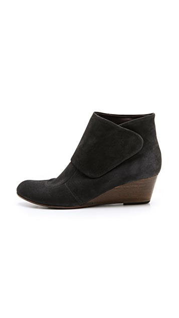Coclico Shoes Kiera Suede Wedge Booties