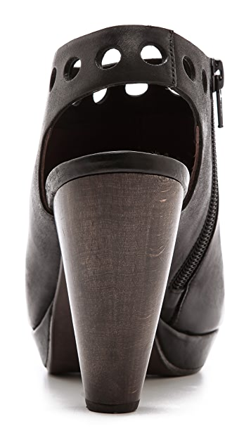 Coclico Shoes Fisco Perf Slingback Booties