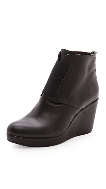 Coclico Shoes Halette Wedge Booties
