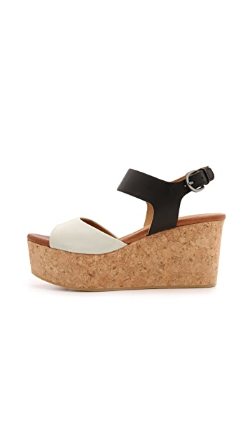 Coclico Shoes Maggie Cork Wedges