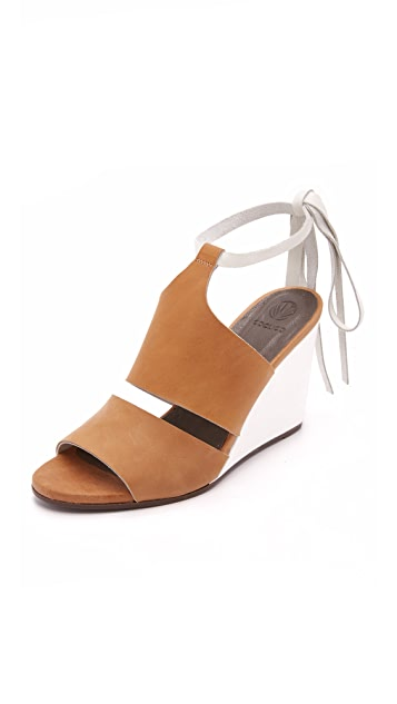 Coclico Shoes Jewel Wedges