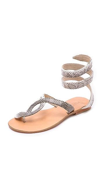 Cocobelle L*Space + Cocobelle Snake Wrap Sandals