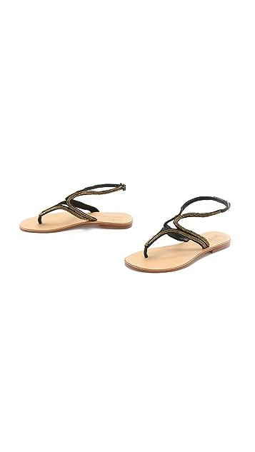 Cocobelle Mila Beaded Sandals