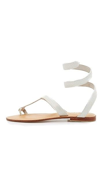 Cocobelle Snake Wrap Sandals