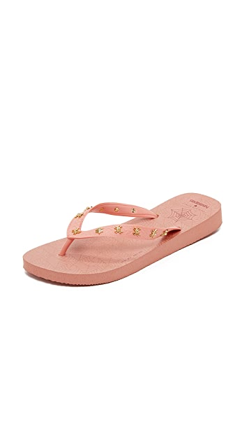 Charlotte Olympia Charlottes Web Havaianas Flip Flops