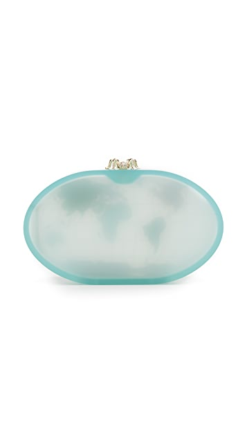 Charlotte Olympia Columbus Clutch