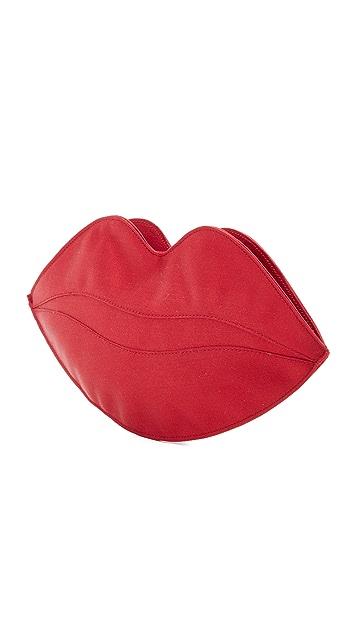 Charlotte Olympia Big Kiss Clutch