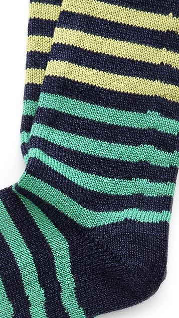 Corgi Striped Heavy Socks