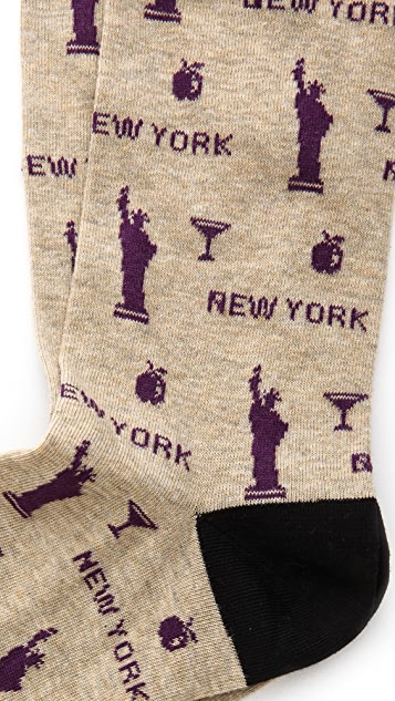 Corgi New York Socks