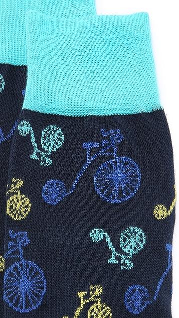 Corgi Bicycle Socks