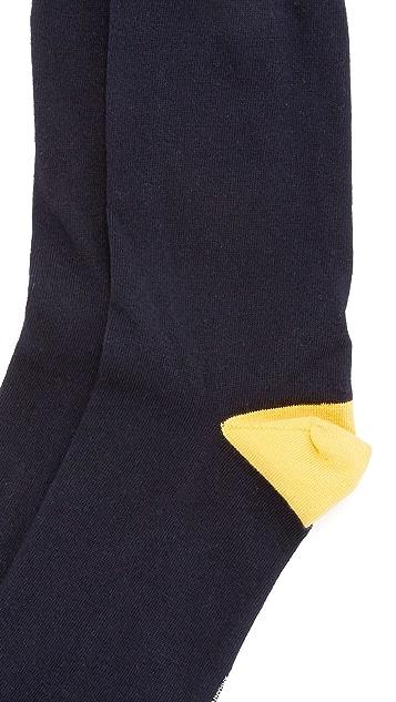 Corgi Heel & Toe Contrast Socks