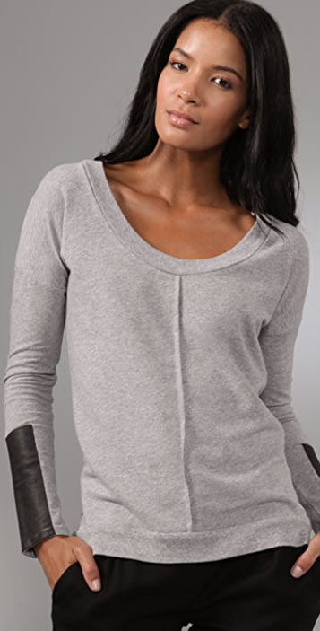 Corson Scoop Neck Top