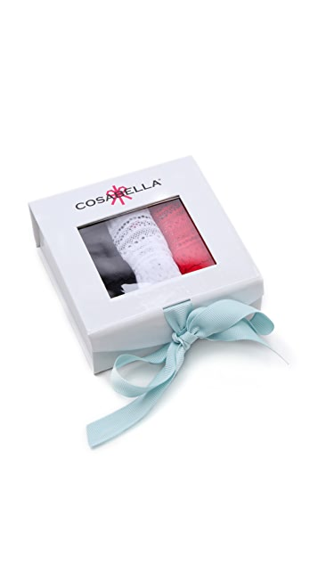Cosabella 3 Dolce Thongs in a Box