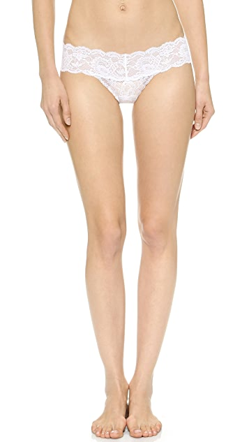 Cosabella Never Say Never Cutie 3 Pack Low Rise Thongs