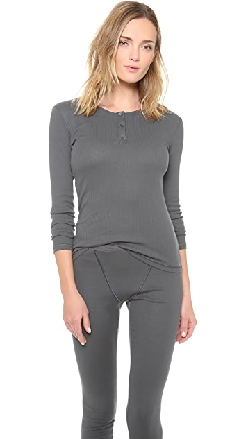 Cosabella Costina Long Sleeve Top