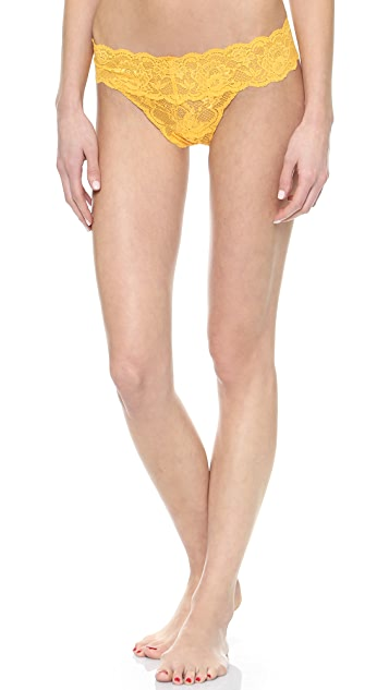 Cosabella Never Say Never Low Rise Thong 3 Pack