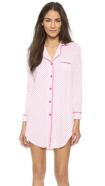 Cosabella Bella Dot Sleep Shirt