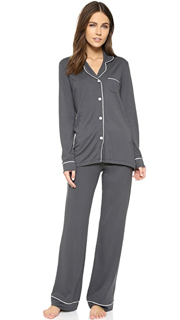 Cosabella Bella Long Sleeve Top & Pant PJ Set