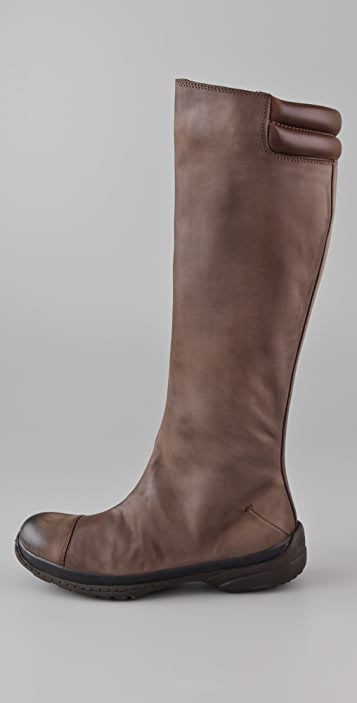 CoSTUME NATIONAL Flat Sport Bottom Boots