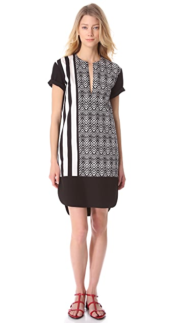 CoSTUME NATIONAL Printed Dress